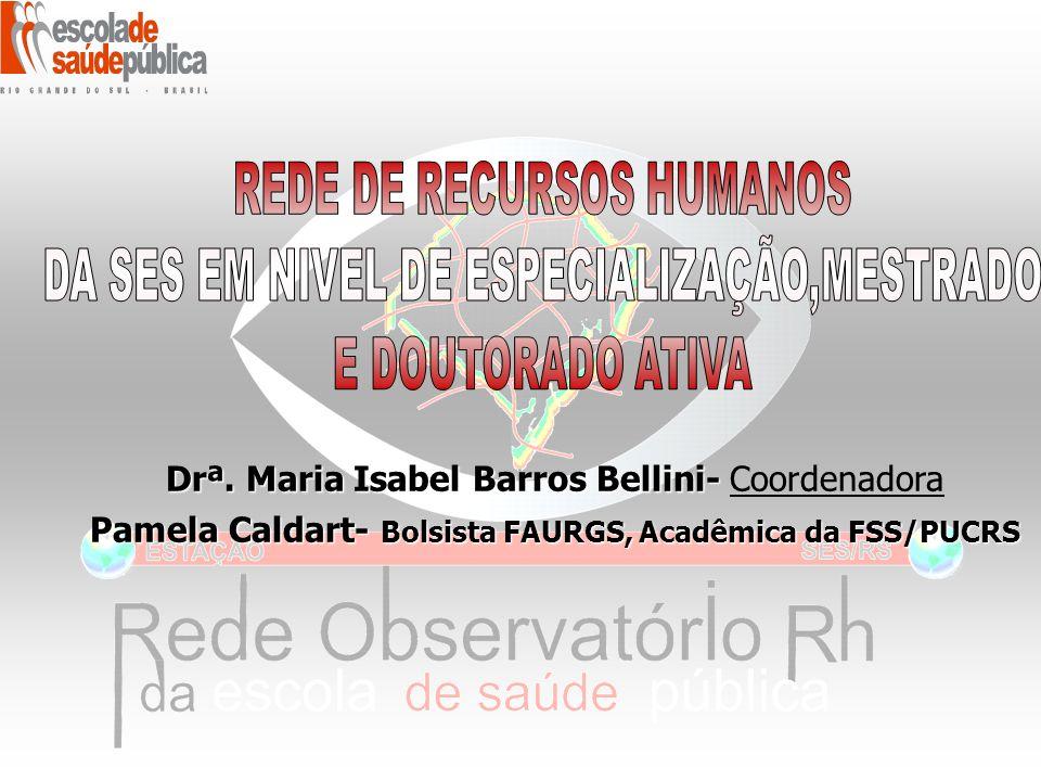 Drª.Maria Isabel Barros Bellini- Drª.