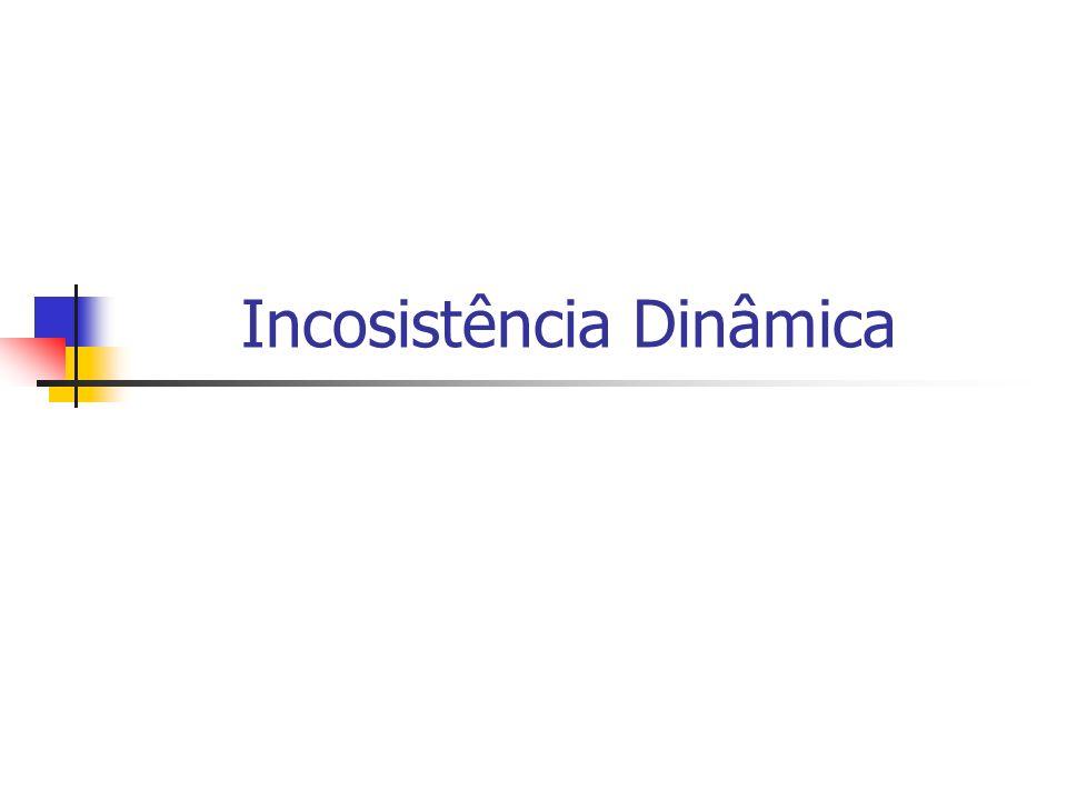 Incosistência Dinâmica