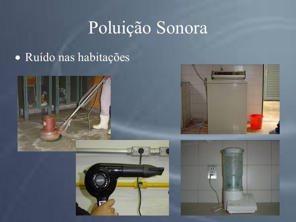 Poluição Sonora Ruído nas habitações