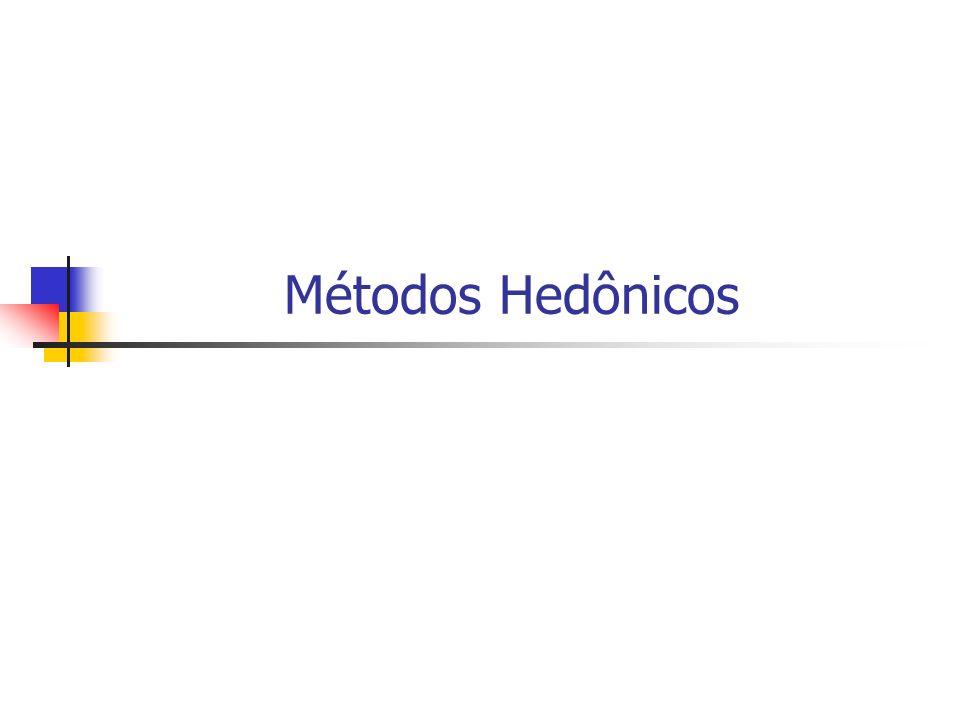 Métodos Hedônicos