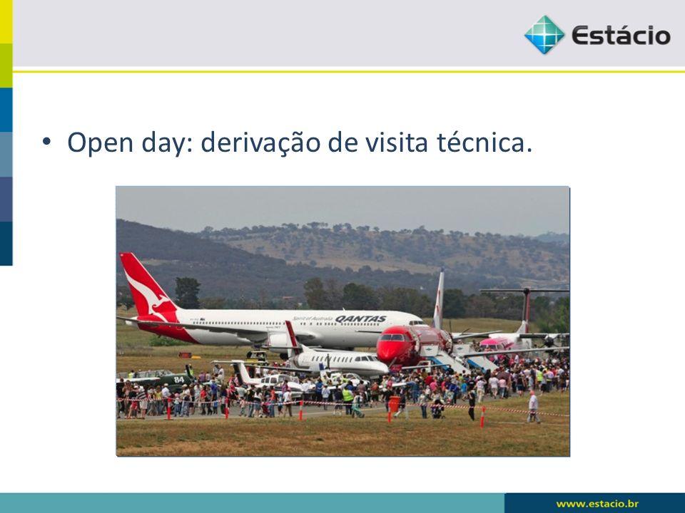 Open day: derivação de visita técnica.