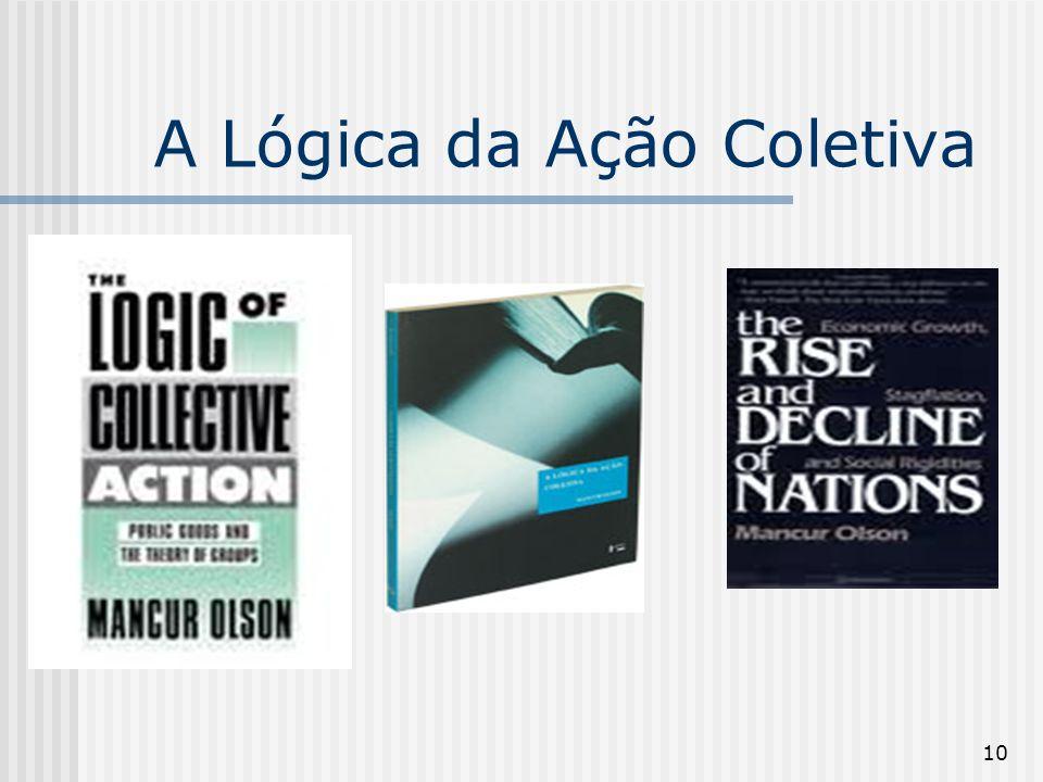 10 A Lógica da Ação Coletiva