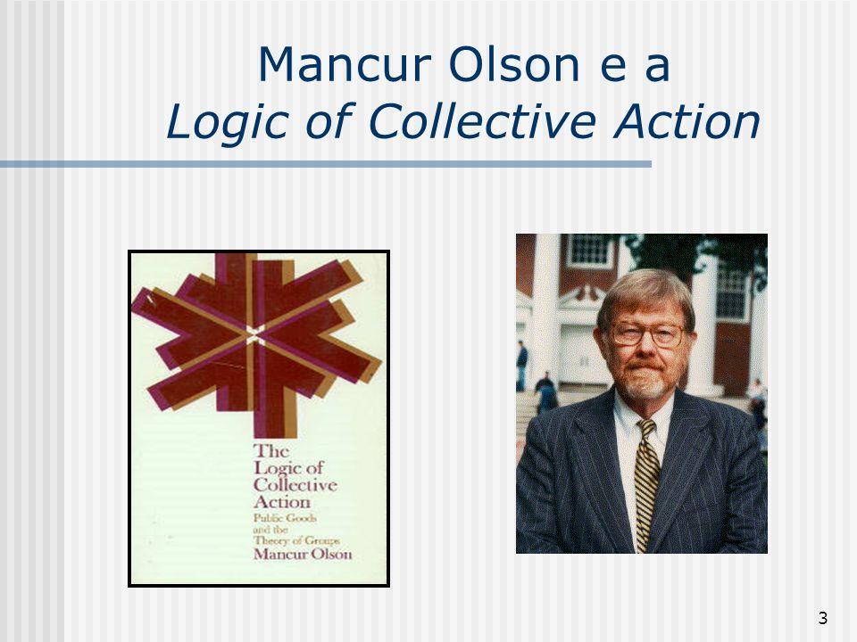 54 As Implicações de Olson (1982) 9.