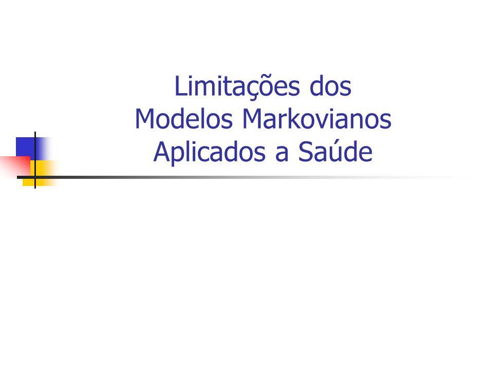 Limitações dos Modelos Markovianos Aplicados a Saúde