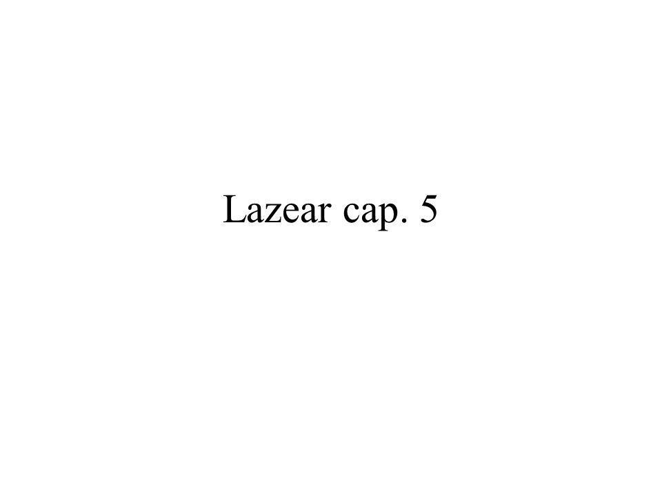 Lazear cap. 5