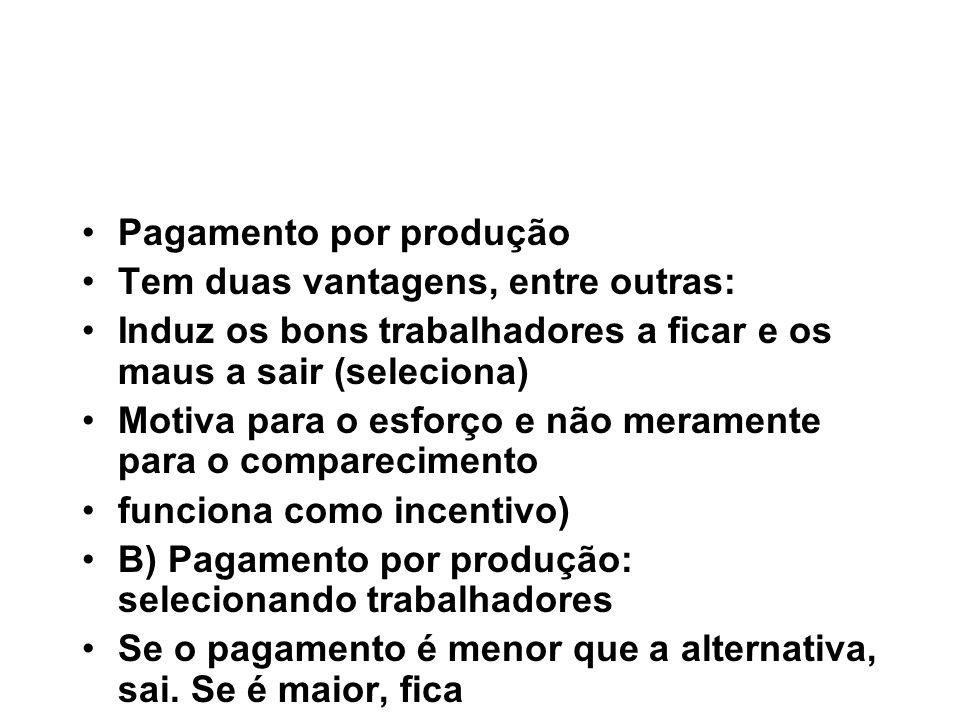F) Incentivos de curto e longo prazos.Promovendo o desempenho de longo prazo.