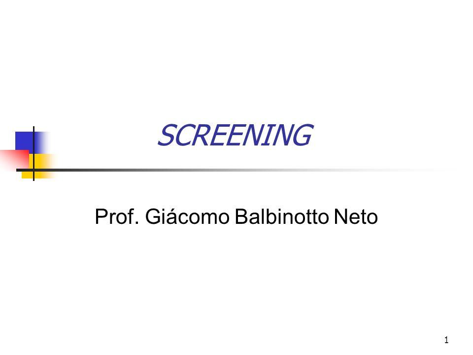 62 As propriedades de bem-estar do equilíbrio screening [cf.