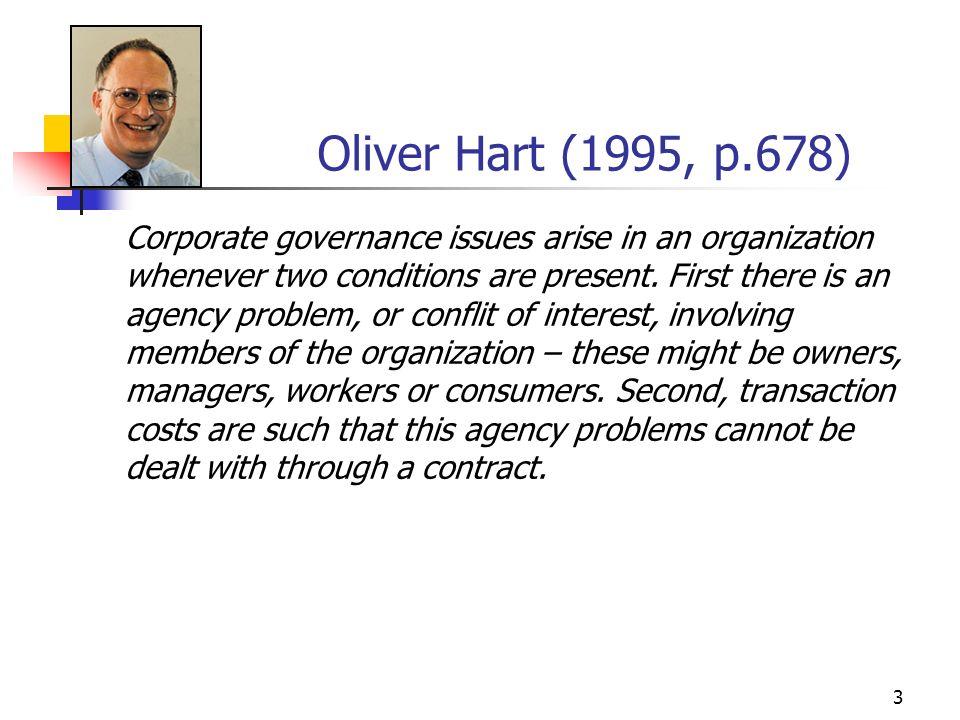 54 Exemplo de problema principal-agente: acionistas e administradores [cf.