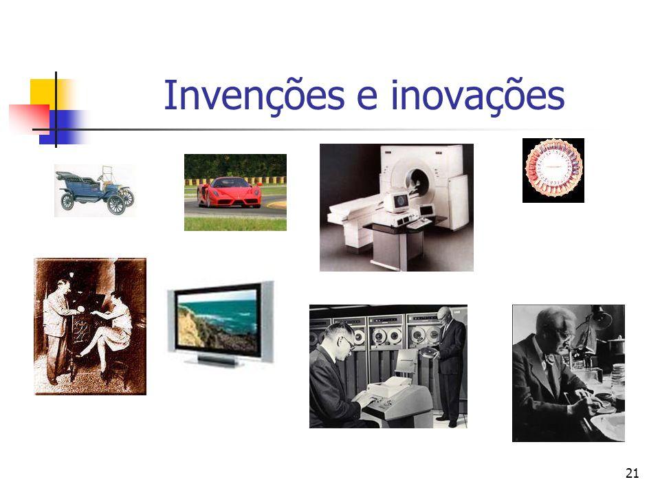 21 Invenções e inovações