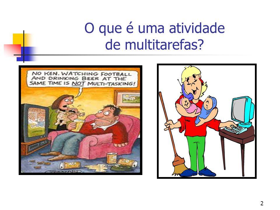 2 O que é uma atividade de multitarefas?