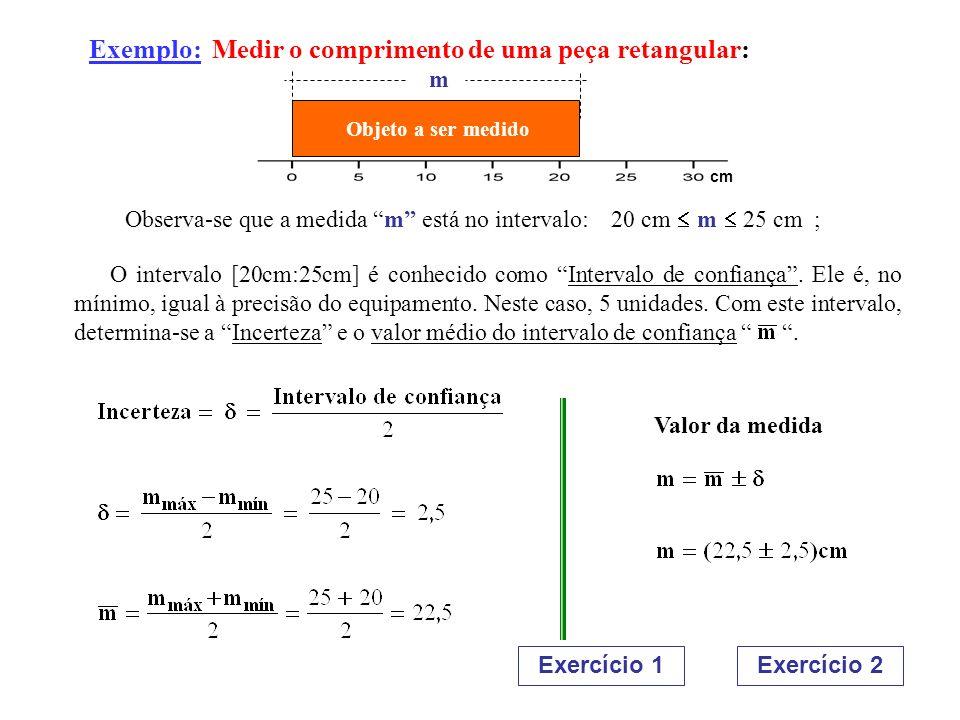 1.2.EXPRESSÃO DAS MEDIDAS QUANDO VÁRIAS MEDIDAS SÃO EFETUADAS 1.2.2.