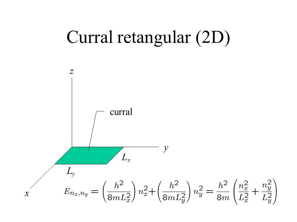 Curral retangular (2D) x y z LyLy LxLx curral