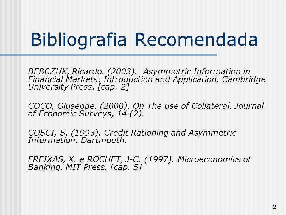 83 O mercado de crédito & as instituições Pinheiro, Armando Castelar e Cabral, Célia.