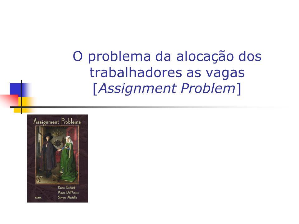 O tratamento formal do problema da alocação dos trabalhadores na firma [O modelo de Garibaldi (2006)] Caso com o número variável de vagas