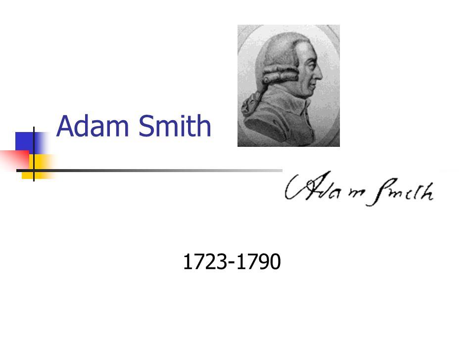 Adam Smith e o Crescimento Econômico Prof. Giácomo Balbinotto Neto Notas de Aula