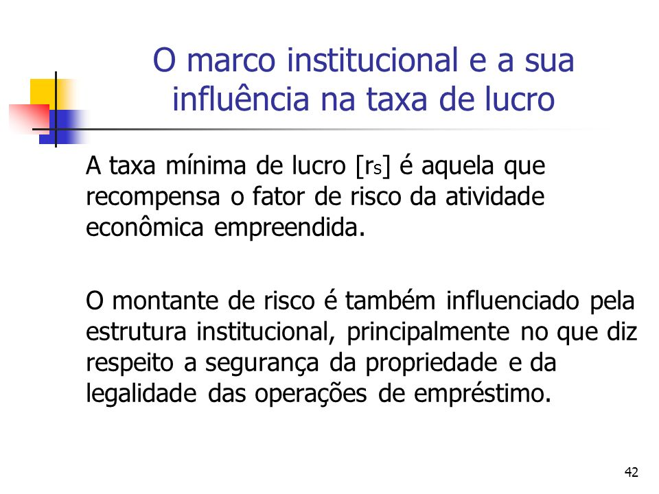 41 O Marco Institucional All systems either of preference or of restraint, therefore, being thus completely taken away, the obvious and simple system