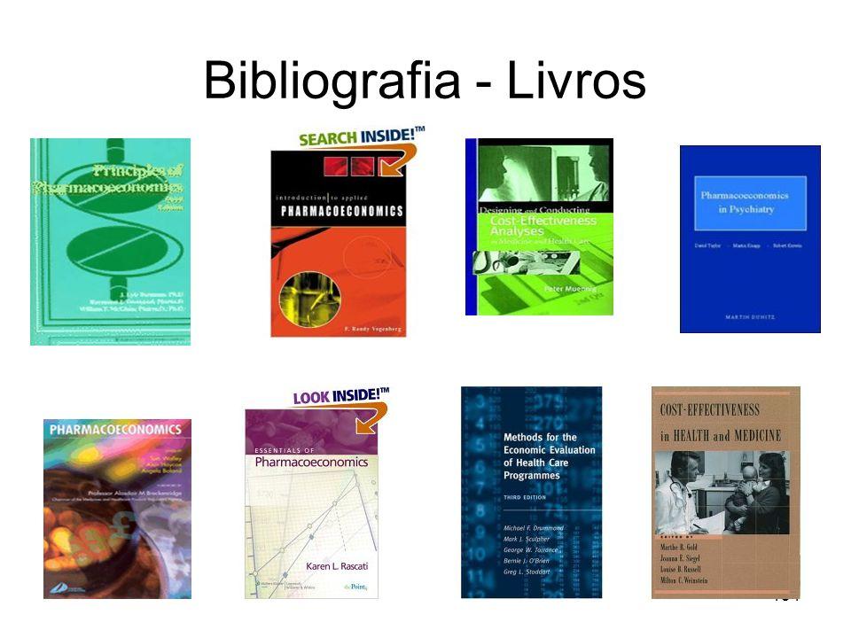 134 Bibliografia - Livros