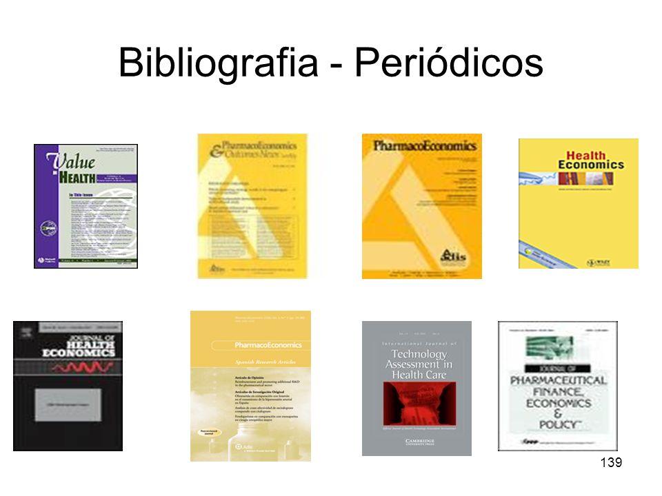 139 Bibliografia - Periódicos