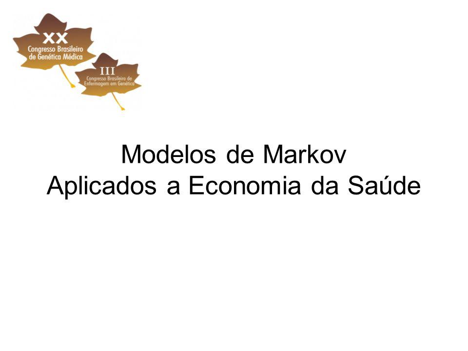 Modelos de Markov Aplicados a Economia da Saúde