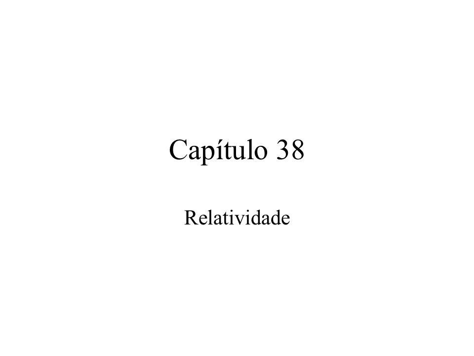 38.1 O que é a relatividade.