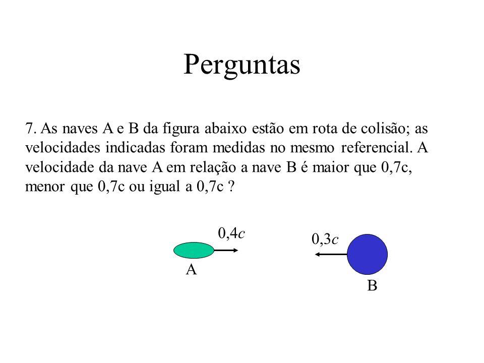 S (do observador inicial) S (nave B) y y xx v u no ref.