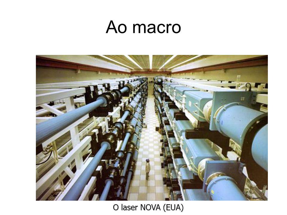Ao macro O laser NOVA (EUA)