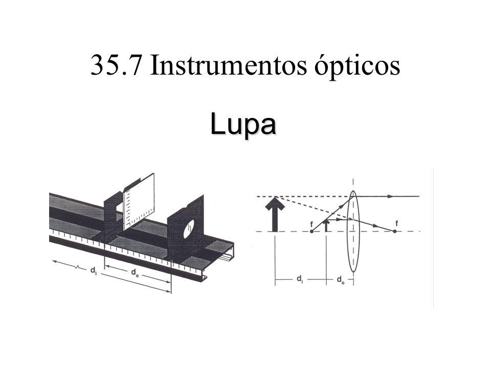 35.7 Instrumentos ópticos Lupa