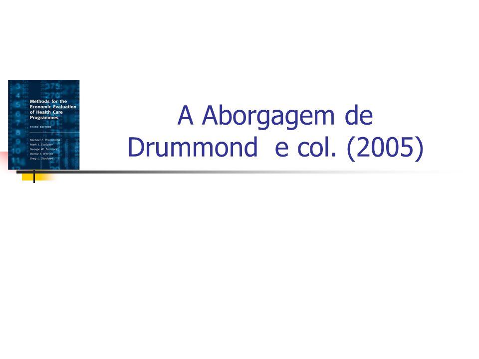 A Aborgagem de Drummond e col. (2005)