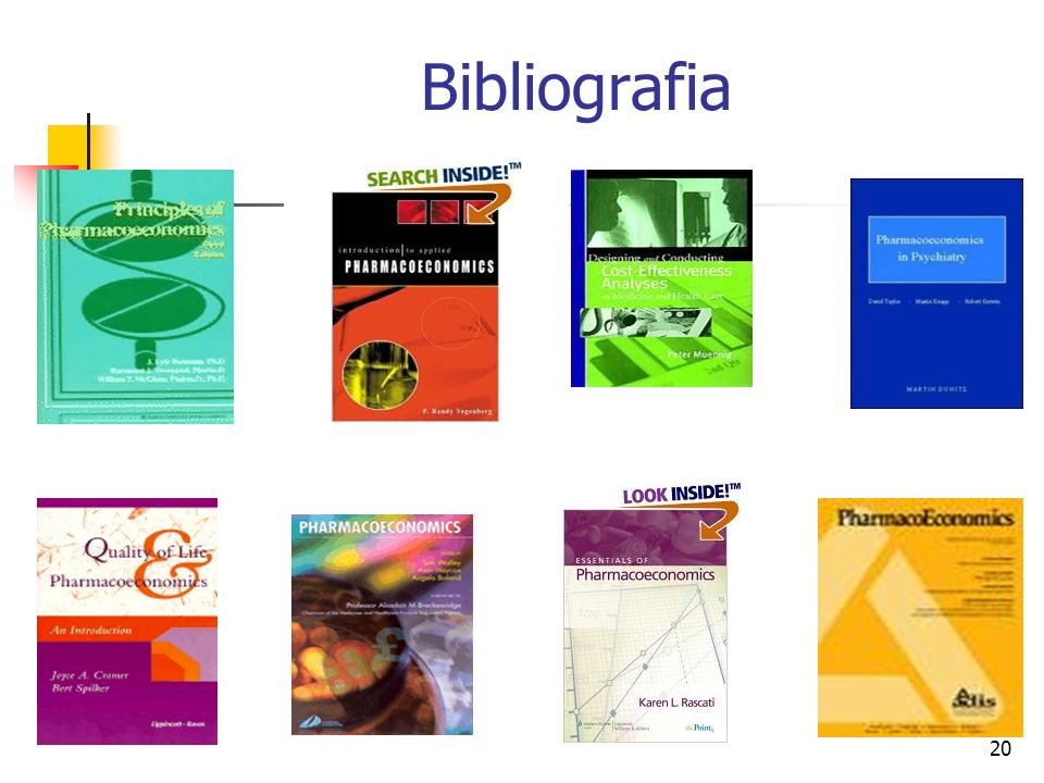 20 Bibliografia