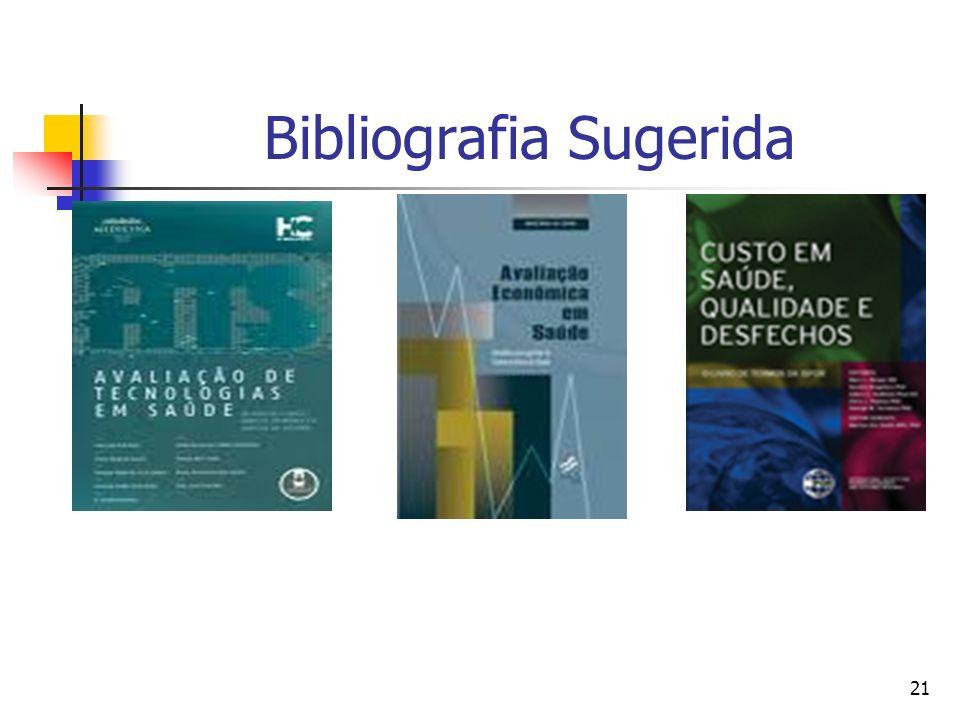 21 Bibliografia Sugerida