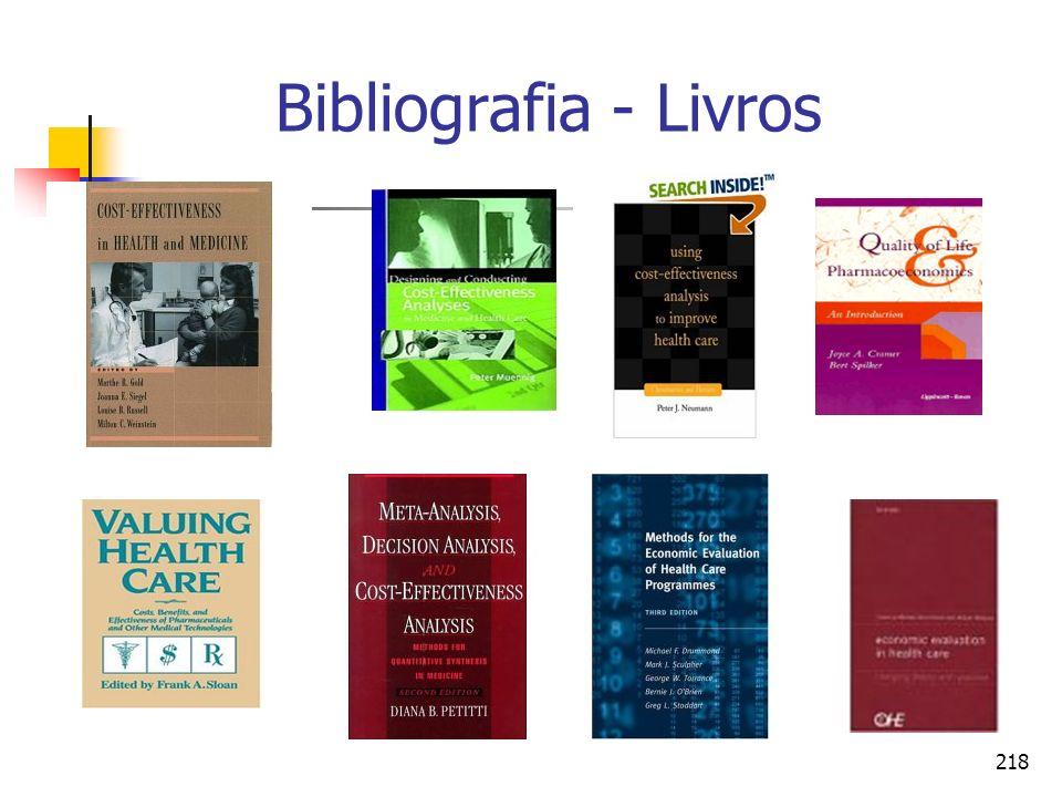 218 Bibliografia - Livros