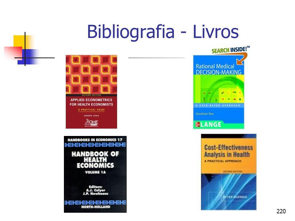 220 Bibliografia - Livros