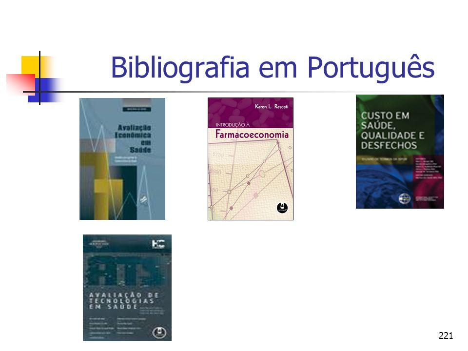 221 Bibliografia em Português