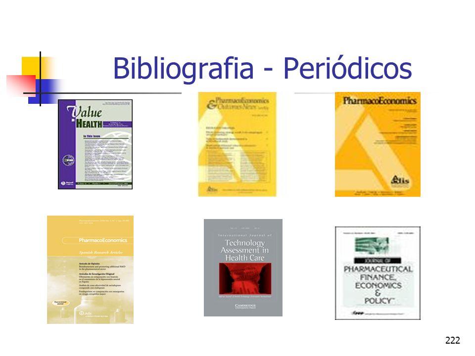 222 Bibliografia - Periódicos