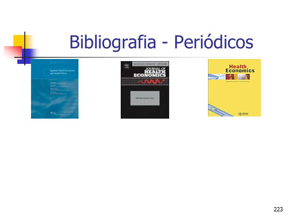 223 Bibliografia - Periódicos