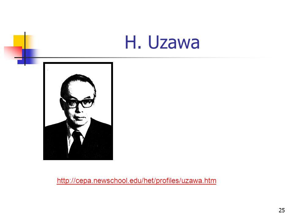 25 H. Uzawa http://cepa.newschool.edu/het/profiles/uzawa.htm