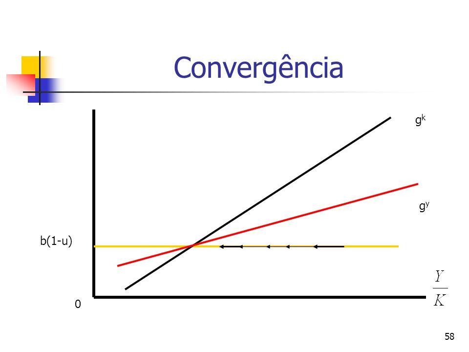 58 Convergência b(1-u) gkgk gygy 0