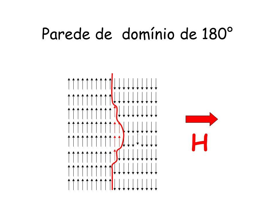 Parede de domínio de 180° H