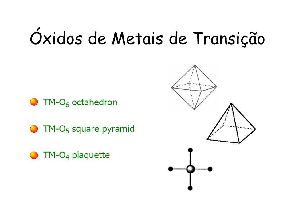 Óxidos de Metais de Transição