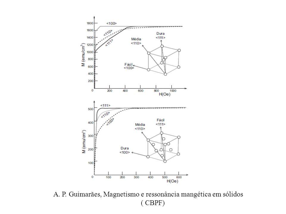 A. P. Guimarães, Magnetismo e ressonância mangética em sólidos ( CBPF)