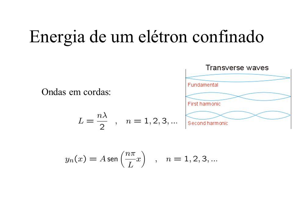 Princípio da correspondência Para grandes valores dos números quânticos, os resultados da física quântica tendem para os resultados da física clássica.