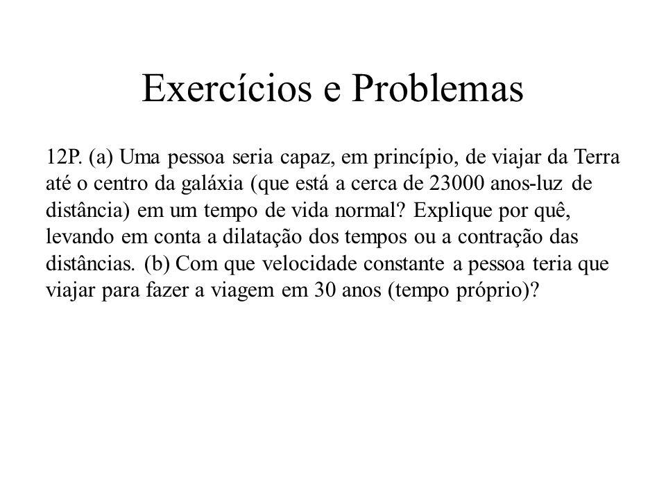 Exercícios e Problemas 12P.