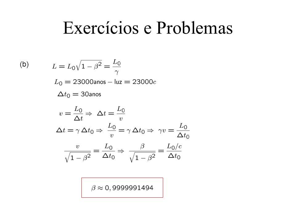 Exercícios e Problemas (b)