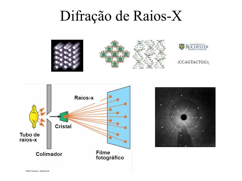 Difração de Raios-X Colimador Filme fotográfico Cristal Tubo de raios-x Raios-x (CCAGTACTGG) 2