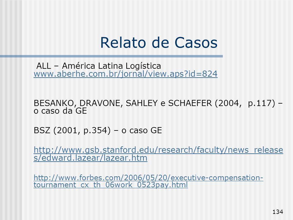 134 Relato de Casos ALL – América Latina Logística www.aberhe.com.br/jornal/view.aps?id=824 www.aberhe.com.br/jornal/view.aps?id=824 BESANKO, DRAVONE,