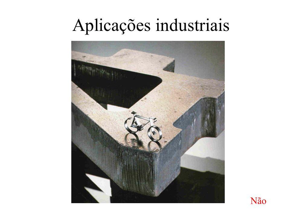 Aplicações industriais Não