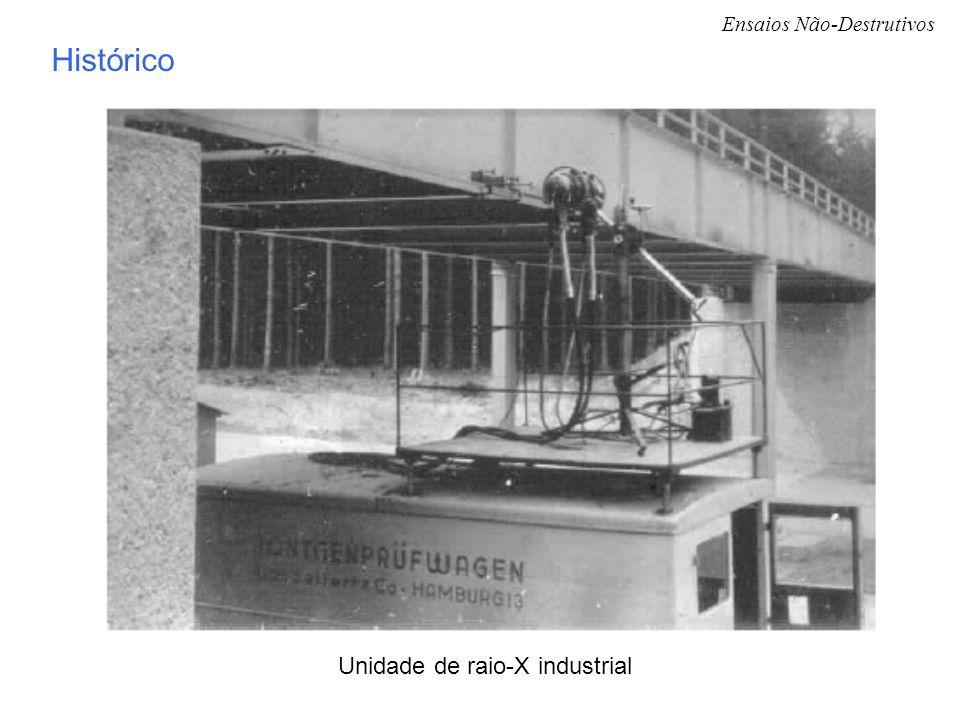 Ensaios Não-Destrutivos Unidade de raio-X industrial Histórico