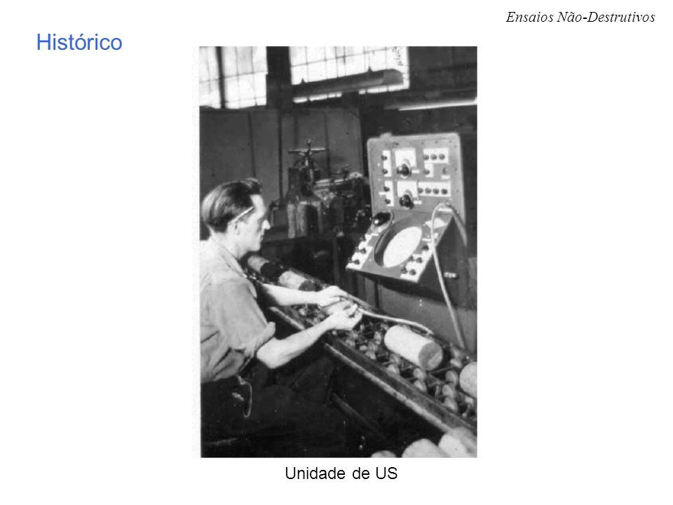 Ensaios Não-Destrutivos Unidade de US Histórico