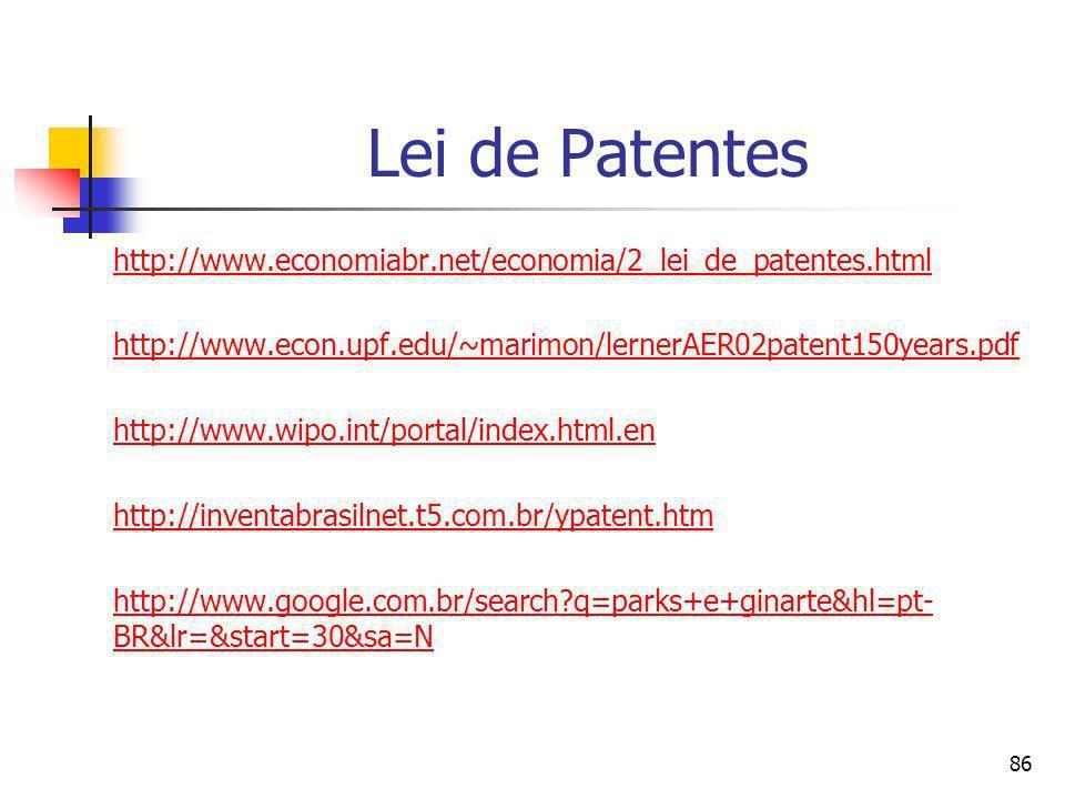 85 Invenções http://corporate.britannica.com/press/inventions.html http://inventors.about.com/library/inventors/blinternet.htm#email http://www.si.edu