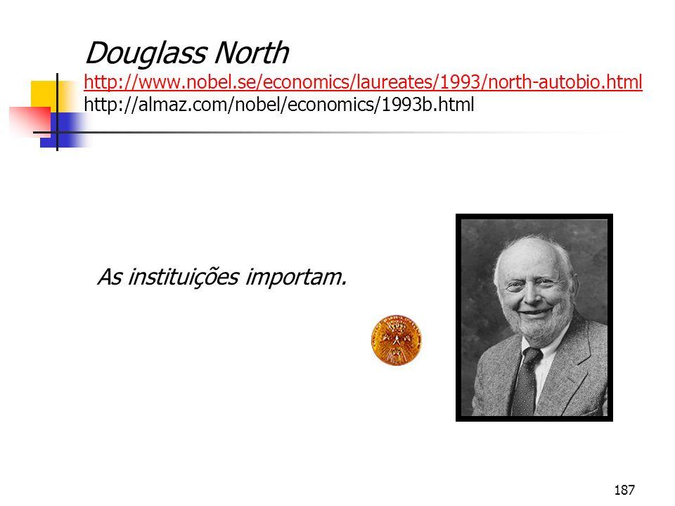 187 Douglass North http://www.nobel.se/economics/laureates/1993/north-autobio.html http://almaz.com/nobel/economics/1993b.html http://www.nobel.se/eco